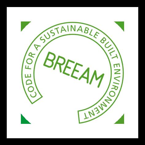 Centre commercial La Sablière - label BREEAM